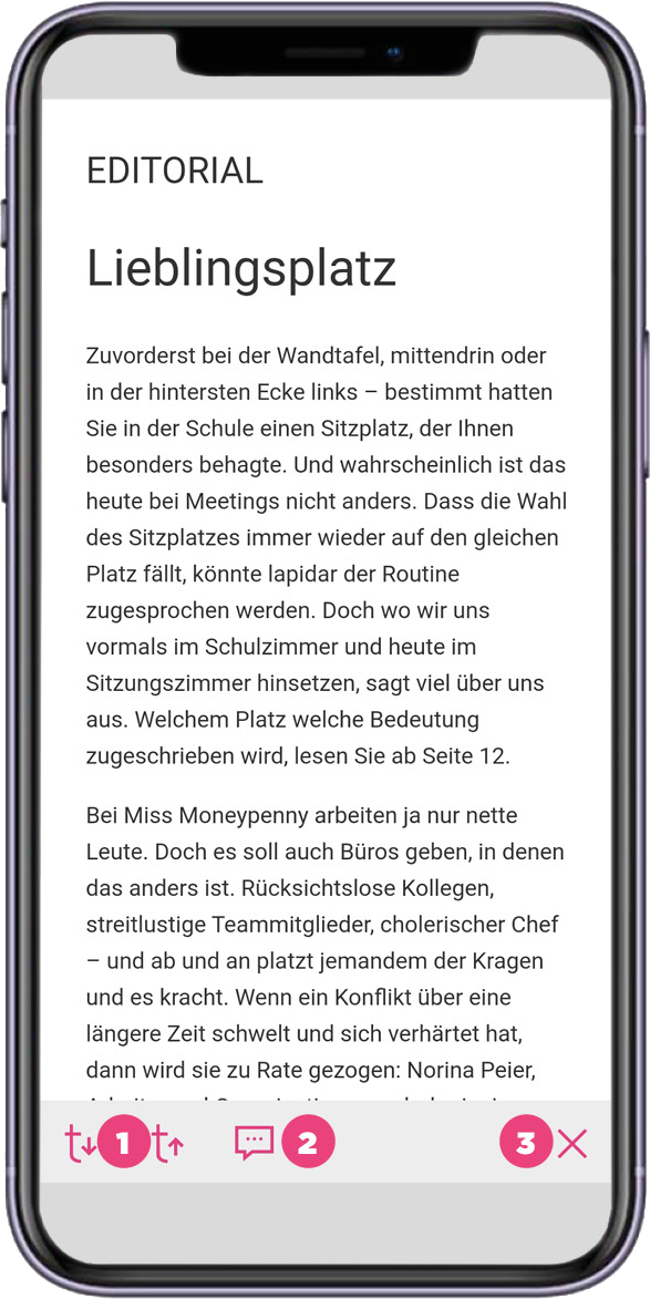 App_MMP_Magazin-Navigation-Text