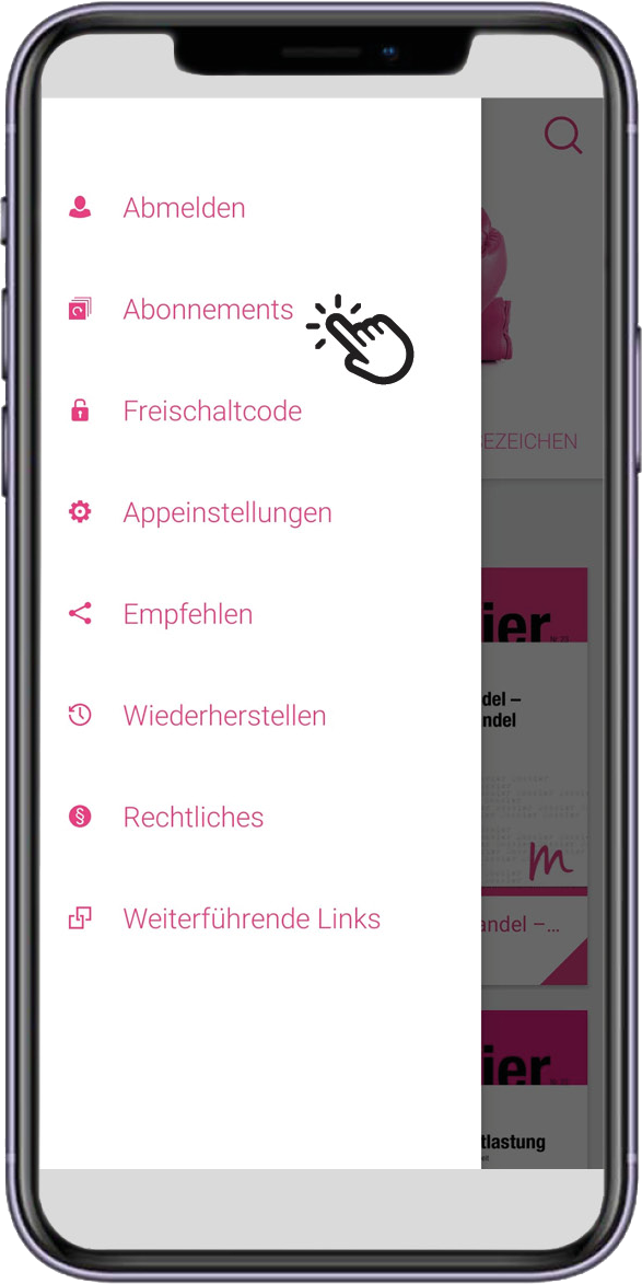 App_MMP_Menu_Abonnements