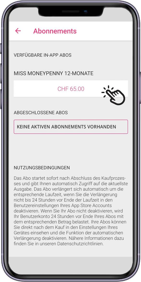 App_MMP_Menu_Abonnements_Auswahl